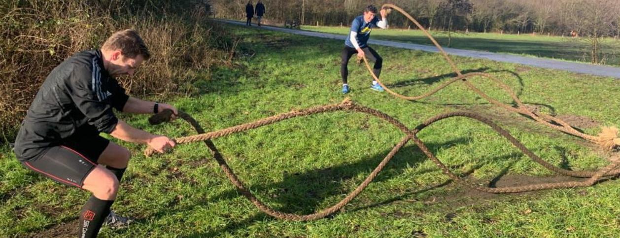 rawfit run battle rope